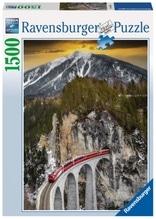 Ravensburger 163588 Puzzle: Winterlichte Schlucht 1500 Teile