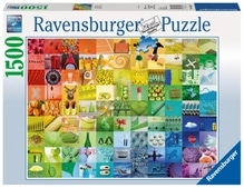 Ravensburger 163229  Puzzle 99 Beautiful Colors 1500 Teile