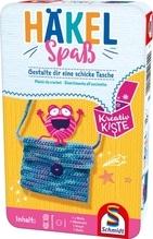 Schmidt Spiele Kreativ Kiste Häkelspaß Bring-Mich-Mit in der Metalldose