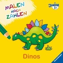 Ravensburger 27705 Malen nach Zahlen junior: Dinos