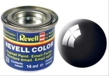 REVELL schwarz, glänzend RAL 9005 14 ml-Dose