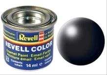 REVELL schwarz, seidenmatt RAL 9005 14 ml-Dose
