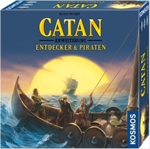 Kosmos Catan - Entdecker & Piraten 3-4 Spieler