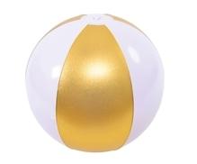 Wasserball, gold,aufgeblasen