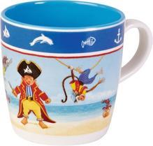 Melamin Tasse Capt'n Sharky