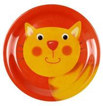Kleiner Melamin-Teller Katze Freche Rasselbande