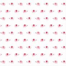 Mulltuch Elefanten BabyGlück, rosa (ca.