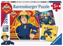 Ravensburger 93861  Puzzle Bei Gefahr Sam rufen 3 x 49 Teile