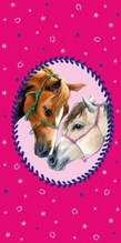 Zauberhandtuch Pferdefreunde (ca. 30 x 6
