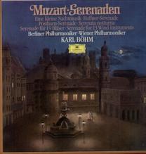 Karl Böhm, Berliner Philharmoniker, Mozart - Serenaden - 3 LP Box 1983