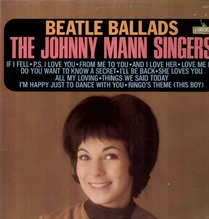 Johnny Mann Singers 1st press., Beatles Ballads - Liberty LST-7391 LP