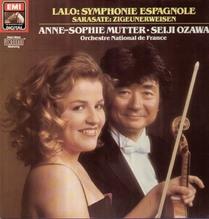 Anne-Sophie Mutter, Seiji Ozawa, Lalo - Symphonie Espagnole LP 1985
