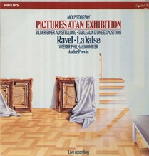 Andre Previn - digital LP 1985, Moussorgsky - Pictures of an Exhibition
