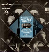 Basie Count - 1930-1932, with Bennie Moten, LPM-514 Ed 1 LP