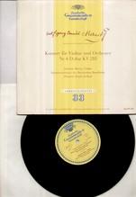 Johanna Martzy, Jochum, 25 cm LP, Mozart - Violinkonzert Nr.4 - DG 16119