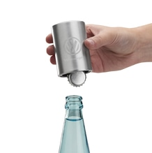 Flaschenöffner, Silber, Standard