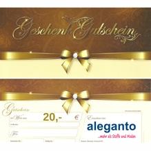Geschenkgutschein - 20,00 bis 100,00 EUR - aleganto
