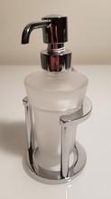 Seifenspender von Smedbo satiniertes Glas