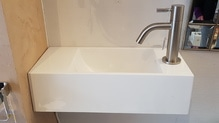 Handwaschbecken Waschbecken mit Standhahn Modell Recto