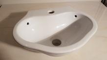 Handwaschbecken zur Wandmontage 35 x 29cm