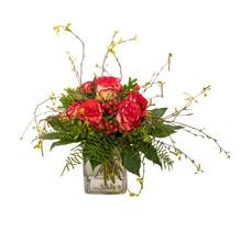Blumenstrauß - Roter Rosengruß