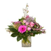 Blumenstrauß - Lila Liebesbrief