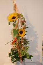 Asymmetrischer Blumenstrauß
