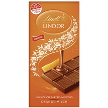 Lindt 'Lindor Orange (Aktion Probierpreis)', 100g