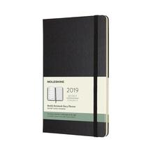Moleskine 12 Monate Wochen-Notizkalender - Schwarz, fester Einband, Large in der Schwanthaler Galerie in Gmunden kaufen