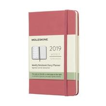 Moleskine 12 Monate Wochen-Notizkalender - Gänseblümchenrosa, fester Einband, Pocket in der Schwanthaler Galerie in Gmunden kaufen