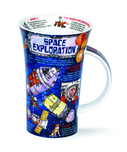 Becher - Glencoe - Space Exploration - 0,5l - Dunoon