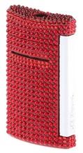 S.T. Dupont Feuerzeug Mini Jet Torch Flame Swarovski Rot in der Schwanthaler Galerie in Gmunden kaufen