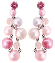 Konplott Ohrringe Stecker Caviar de Luxe pink