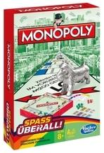 Hasbro B1002 Monopoly Kompakt
