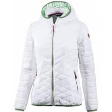 CMP Kunstfaser-Steppjacke Damen Fix Hood Farbe: weiß 38Z5746