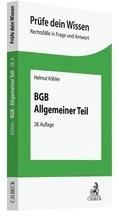 BGB Allgemeiner Teil   Köhler, Helmut