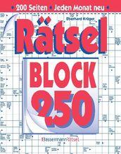 Rätselblock. Bd.250
