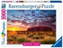 Ravensburger 151554 Puzzle: Ayers Rock in Australien 1000 Teile