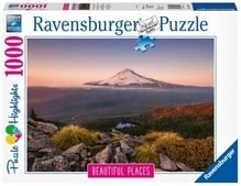 Ravensburger 151578 Puzzle: Stratovulkan Mount Hood in Oregon,US 1000 Teile