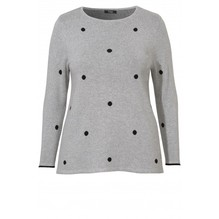Pullover mit Punkten