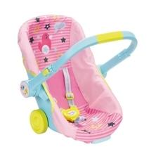 Zapf BABY born® Schalensitz mit Rädern