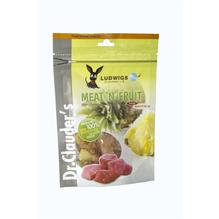 Dr.Clauders Dog Snack Meat&Fruit Ananas & Hühnchen 10x80g