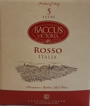 CANTINA DI SOAVE Baccus Rosso - 5 Liter Bag in the Box
