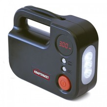 Dino KRAFTPAKET 2in1 Kompressor mit LED-Lampe 12-Volt 120 Watt