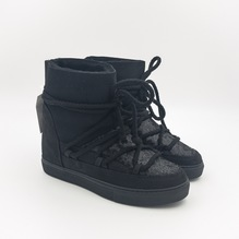 Women Sneaker Sequin Black