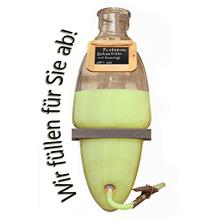 Laux 'Pistazien Sahnelikör' 17% vol - mit Farbstoff, in verschiedenen Flaschenformen und Mengen!