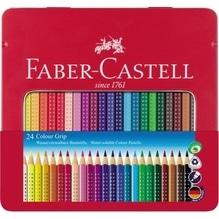 Faber-Castell Farbstift Colour GRIP 112423 3mm sortiert 24 St./Pack.
