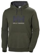 HELLY HANSEN Herren Hoodie, Gr?n (Oliv), Large