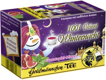 Goldmännchen Tee Orient Winternacht Granatapfel Minze