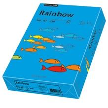 Rainbow Kopierpapier 88042769 A4 160g intensivblau 250 Bl./Pack.